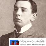 A young John Lister. ca. 1900