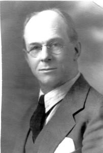 Portrait of W.J. Barrett-Lennard of Hood Point Estates. Date unknown.