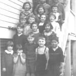 Yamada children at the Bowen Island School. ca.1940