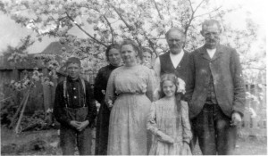 Mr. and Mrs. Dewitt Becker and family. ca. 1890