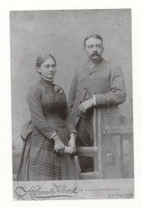 Minnie and Edward Galbraith. ca.1900