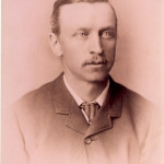 Portrait of Harry Lee, an early landowner on Bowen.  In 1885, he planted a hop field on his land a Cowan Point.  He sold the land to George H. Cowan in the early 1900's. ca 1900