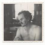 Einar Neilson contemplating. ca 1940's