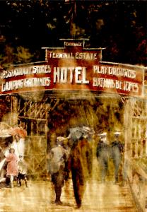 Hotel-entrance-sign