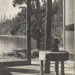 A view of the water taken from the inside of Lieben. ca 1940's